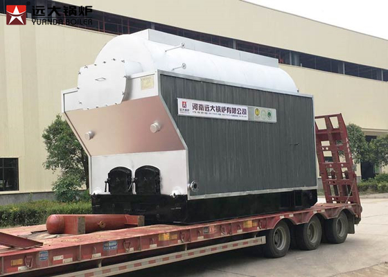 China Travelling Chain Grate Steam Tube Boiler 4 Ton Wood Chips Boiler Steam Output distributor