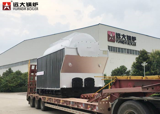 China 1000Kg Travelling Grate Wood Steam Boiler For Texitile Factory , Easy Maintenance distributor