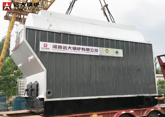 China 3000Kg Firewood Fired Horizontal Steam Boiler Moving Grate Biomass Boiler distributor