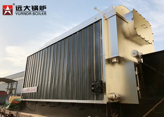 China 15 Ton Efficency Chain Grate Stoker Coal Steam Boiler For Drying Gypsum Powder distributor