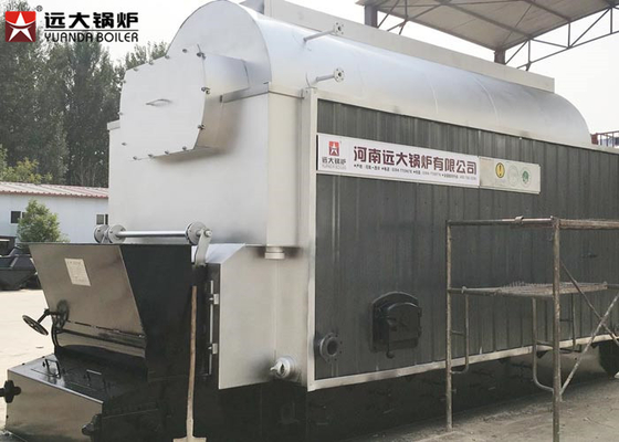 China 4500 Kg Steam Output Coal Fired Boiler Large Stove For Slaughter House distributor