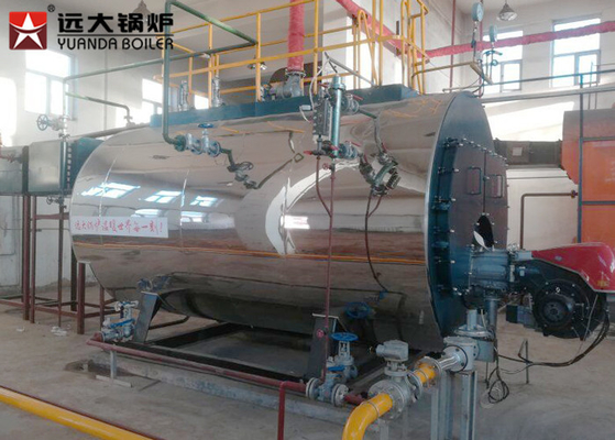 China Low Pressure Large 15 Ton Gas Oil Steam Boiler Factory Using For Production factory
