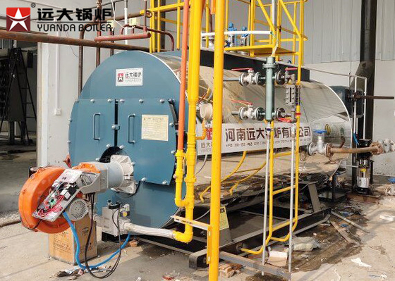 China Easy Operation 6T Gas Oil Steam Boiler Automatic Running For Fruits Dehydration Line distributor