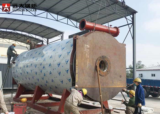 China 1400Kw Diesel Fired High Efficiency Oil Boiler For Chemical Industry Use factory