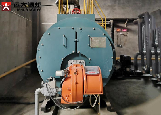 China Industrial Oil Fired Steam Boiler 200Kg 300Kg 500Kg 750Kg For Food Factory factory