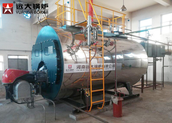 China 2 Ton Oil Steam Boiler Diesel Energy 7 Bar - 26 Bar For Juice Factory factory