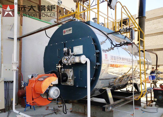 China Fire Tube Gas Oil Steam Boiler 1 Ton Automatic Operating WNS 1 - 1.25 - Y factory