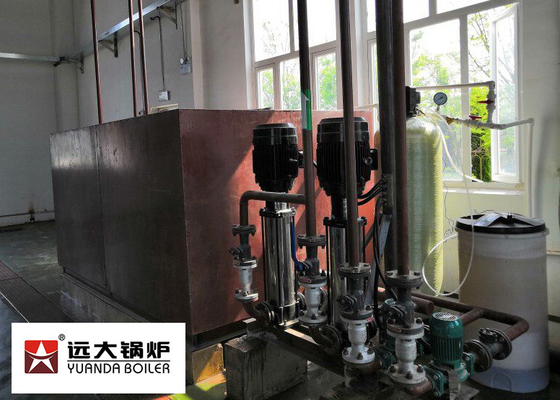 China PLC Controller Oil Steam Boiler Q345R Carbon Steel 4 Tons Per Hour For Paper Mill factory