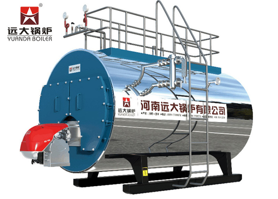 China Biogas Methane Natural Gas Steam Boiler Q345R Carbon Steel Boiler Material factory