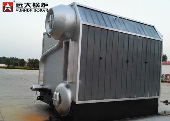 China SZL Industrial Water Tube 10 Ton Biomass Fired Boiler Combustion Efficiency factory
