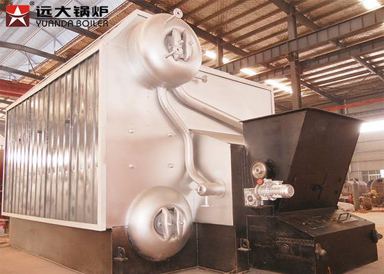 China Greenhouse 2 Ton/H Biomass Fired Boiler Automatic Operation With Chain Grate factory