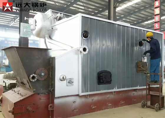 China Wood Processing Mill Bagasse Fired Steam Boiler Large Furnace Burning ISO 9001 factory