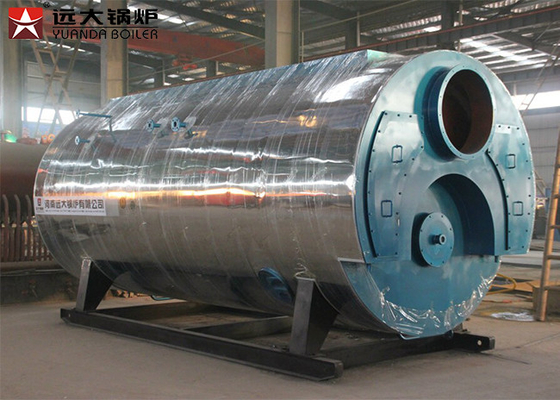 China Low Pressure Heavy Oil Steam Boiler System 4000kg/H Capacity In Paper Machine factory