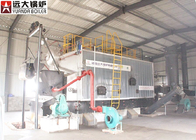 Water Cooled Wall Chian Grate Biomass Boiler 10 Ton Easy Running Safely