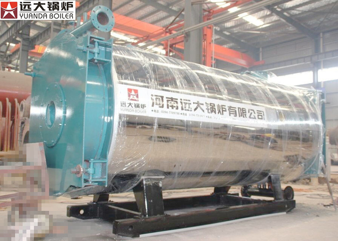 YYQW Series 1400Kw Thermal Oil Heater Boiler For Textile Printing And Dyeing